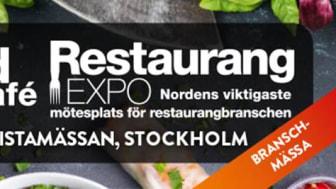 Stjärnägg deltar i Restaurangexpo och Fastfood & Café den 30-31 januari