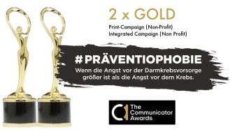 Communicator Awards 2021: 2 x Gold für Felix Burda Stiftung