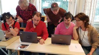 Gymnasiesärskolans och Särvux/Lärvuxs elever blir utan digital delaktighet