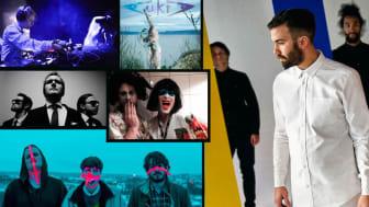 Lovespeak, Whales & This Lake, Aukra, Pappasaft, DJ Vibeke Bruff og DJ Lisa & Lisa er klare for Oslo Pride