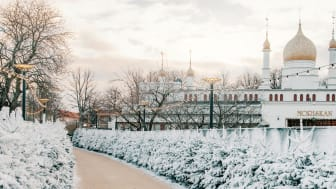 Välkommen in till Vinterdröm - ett upplyst vinterlandskap i Folkets Park fullt av små och stora överraskningar.