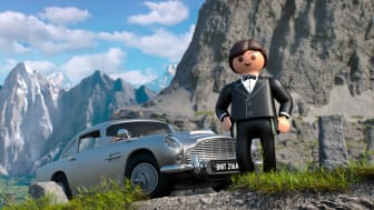 James Bond Aston Martin DB5 - Goldfinger Edition von PLAYMOBIL - Teaser 2