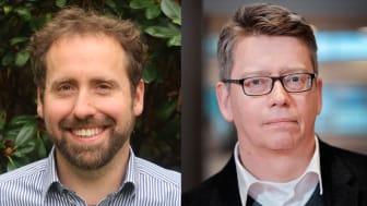 Anslag för att rekrytera universitetslektorer och doktorander har tilldelats Michael Strange och Paul Davidsson.