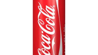 Coca-Cola-tölkki kapenee ja kevenee