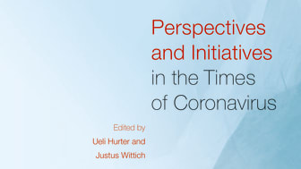 Cover of the Book 'Perspectives and Initiatives in the Times of Coronavirus' (Rudolf Steiner Press)