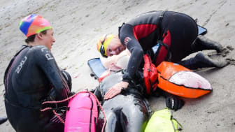 Council makes waves with cold water swimming safety courses in Mid and East Antrim
