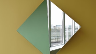 Rotating Mirror Object II (Roterande spegelobjekt II), 2013 Foto: Per Kristiansen