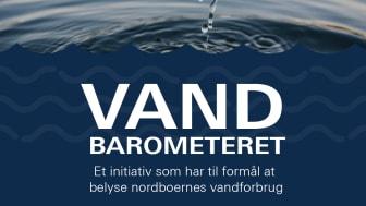 Vandbarometeret - et initiativ som har til formål at belyse nordboernes vandforbrug