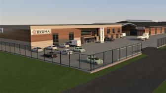 Bygma opfører helt ny DGNB-certificeret tømmerhandel- og logistikcenter i Thisted