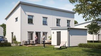 Anebyhusgruppen planerar nytt bostadsprojekt i Gäddeholm tillsammans med Carpenter