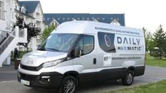 """Iveco Daily kåret som """"Best KEP Transporter 2015"""" og Daily Hi-Matic vinder """"Innovation Award"""" i Tyskland"""
