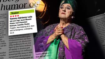 """Lysande nypremiärhelg för """"Lola"""" med Tommy Körberg – nu fortsätter turnén!"""