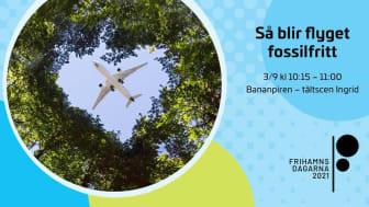 GKN Aerospace ordnar seminarium på temat Så blir flyget fossilfritt