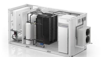Vi annoncerer det første alt-i-ét væskekølede, modulære EcoStruxure™-datacenter i branchen