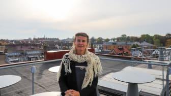 Den nya förbundsdirektören Nina Mårtensson. Foto: Magnus Nurmi, Skånes Kommuner