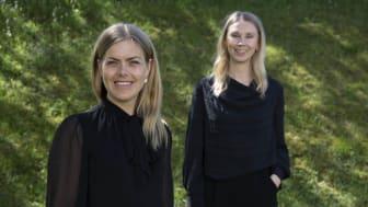 Anna Nordlander och Hanna Nordenö utvecklar den AI-baserade appen About Mom.