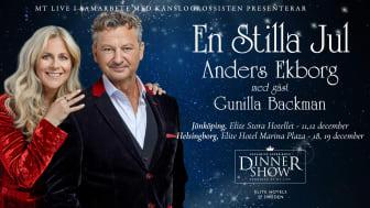 En Stilla Jul med Anders Ekborg med Gunilla Backman på Elite Hotels