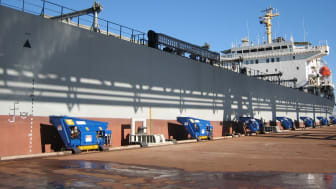 Cavotec's innovative automated mooring technology, MoorMaster™, secures two industry awards