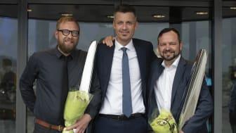 Stolte vinnere av innovasjonsprisen 2019