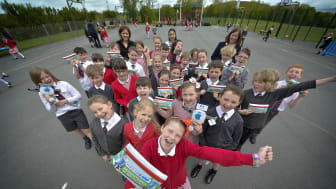 Pass it on – primary pupils help to write UK recycling book