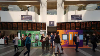 West Midlands Railway and London Northwestern Railway managers have been at stations to inform customers about upcoming timetable changes