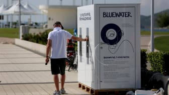 Bluewater delivers chilled still and sparkling water purified of contaminants such as micro-plastics that are found increasingly in tap water around the world