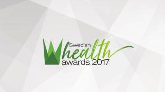 Nytt pris i hälsobranschen – Swedish Health Awards