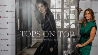 'Tops on Top 2019': Silestone-ambassadør Cindy Crawford præsenterer 'Tops on Top 2019' i London
