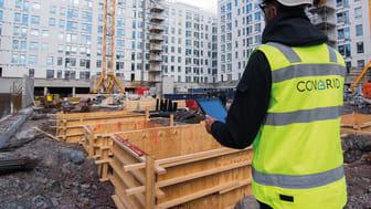 Congrid förenklar vardagen på bygget och bidrar samtidigt till bättre säkerhet och högre kvalitet på det som byggs. Bild: Congrid