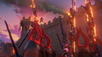 Spannende Rittergefechte