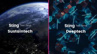 Sting Test Drive Sustaintech och Deepteck - ansökningen är öppen