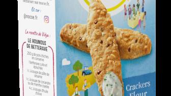 Snackfutures, le hub innovation de Mondelez International, co-crée NoCOé, la première marque apéritive zéro carbone, en collaboration avec Fooding Company