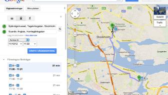 Transit Sverige - Routing