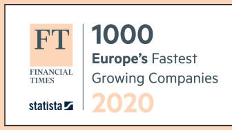 Die Treasury Intelligence Solutions GmbH ist wiederum unter den 1.000 am schnellsten wachsenden Unternehmen Europas. Abb: Financial Times & Statista