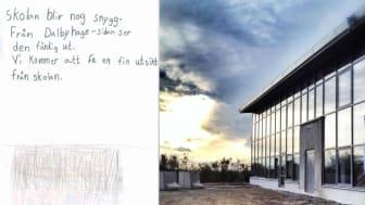 Nybyggd skola med miljötänk invigs i Dalby