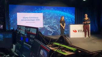 Vismas Hållbarhetspris delades ut på Visma Commerce Användardagar 2020, som i år var ett digitalt event.