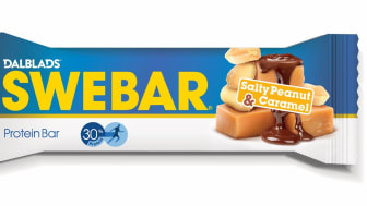 Swebar Salty Peanut & Caramel
