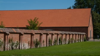 Ladebygningen ved Voergaard Slot