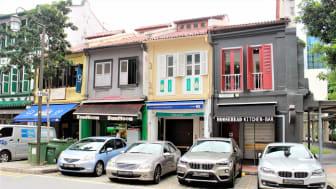 NNIT Singapores kontor i midt i det travle Central Business District