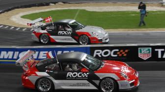 ROC Düsseldorf 2010_Action_Top Shot_Team Nordic Krisenten vs Team France Loeb in Porsche 911_TAG Heuer.jpg