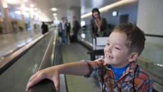 KONE anordnar säkerhetsevent för resenärer på Arlanda
