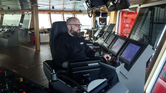 Morten Dragsbæk Holm, Captain on 'Esvagt Njord', formerly on 'Esvagt Aurora'.