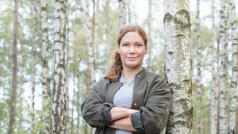 Sofia B. Olsson pratar Hälsa på Fastfood & Café/ Restaurangexpo 11 sept 2019 på Åbymässan.