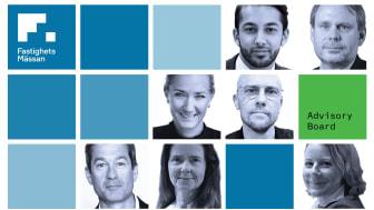 FastighetsMässans Advisory Board är nu komplett. För mer information, besök www.fastighetsmassansthlm.se/