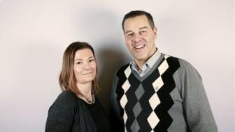 Freja Bröste, konsultchef och Mikael Lindblad, regionsäljare.