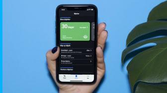 Från 7 april kan den som önskar börja köpa 30-dagarsbiljetten i mobilen.