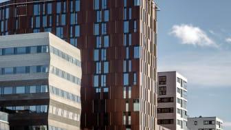 LUFTIG: Quality Hotel Ramsalt har 250 gjesterom fordelt på 13 etasjer.