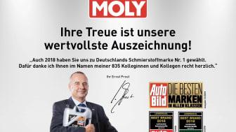 Liqui Molys vd Ernst Prost.