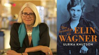 Ulrika Knutson får pris av Samfundet De Nio