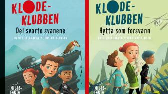 """""""Dei svarte svanene"""" og """"Hytta som forsvann"""" av Ruth Lillegraven og Jens Kristensen"""
